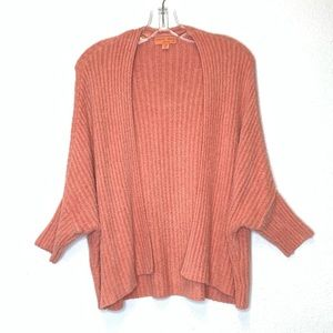 Barefoot Dreams Cozychic Lite Cardigan Coral S/M